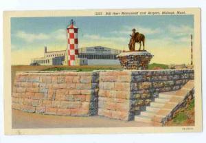 Linen of Bill Hart Monument & Airport Billings Montana MT