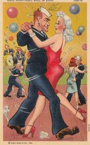 Sailor & girl Dancing , 30-40s