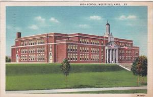 Massachusetts Westfield High School 1940 Curteich