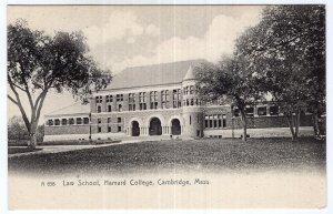 Cambridge, Mass, Law School, Harvard College - Rotograph