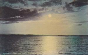 Moonlight On Burt Lake Michigan