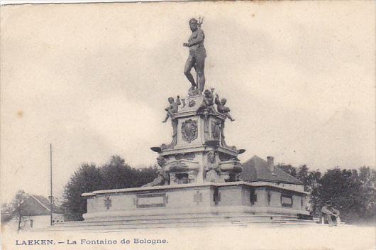 Belgium Brussels La Fontaine de Bologne