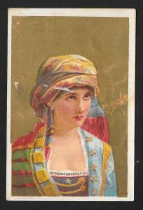 VICTORIAN TRADE CARD Dr Thomas' Eclectric Oil