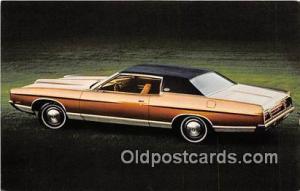 Postcard Post Card 1971 Ford LTD Brougham 2 Door Hardtop