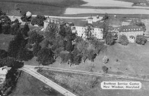 New Windsor Maryland Brethren Service Center Antique Postcard K36264