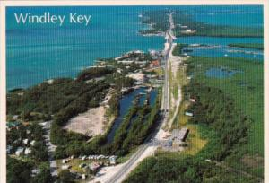 Florida Aerial View Windley Key In The Florida Keys