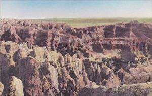Badmans Hideout The Badlands National Monument South Dakota Handcolored Alber...