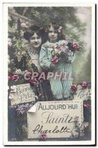 Old Postcard Fantaisie Child Charlotte St.