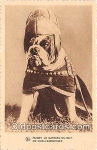 Rugby Le Gardien Du But De Doelverdediger Chocolat Martougin Dog Unused