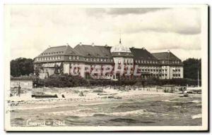 Postcard Modern Poland Grand hotel