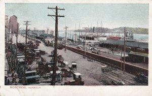 MONTREAL, Quebec, Canada, PU-1907; Harbour