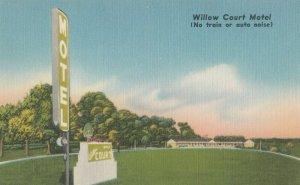 SALISBURY , Maryland , 1930-40s ; Willow Court Motel