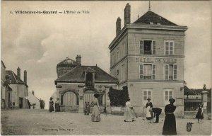 CPA VILLEBLEVIN la Guyard - L'Hotel de Ville (124669)