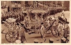 Their Majesties the King and Queen, Royal Carriage, Gold State Coach
