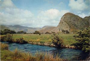The Bird Rock Merionethshire Wales Unused Vintage J. Arthur Dixon Postcard D46