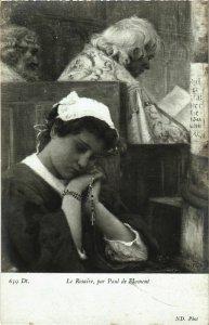 CPA Salon de Paris P. DE PLUMENT La Rosaire (866694)