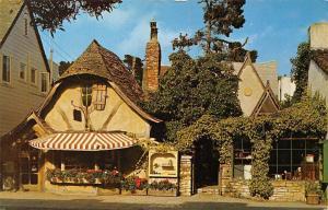 California The Tuck Box, Carmel-by-the-Sea, English Tea Room, village