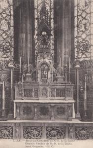 Lille Basilique Cathedrale De ND De La Treille French Religious Postcard
