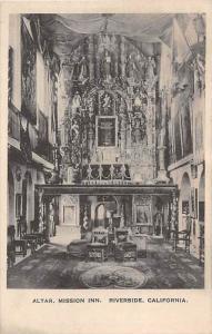 1974 CA Riverside, Mission Inn, Altar