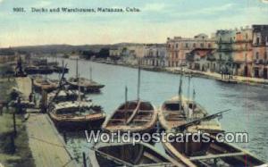 Matanzas Republic of Cuba Docks & Warehouses  Docks & Warehouses
