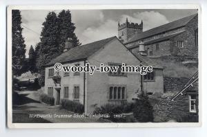 tp9058 - Cumbria - Wordsworth's Grammar School c1954, Hawkshead - postcard