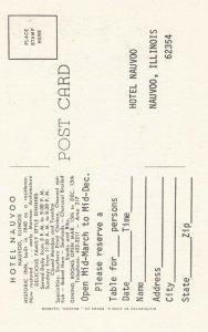 NAUVOO , Illinois, 1940s ; Hotel Nauvoo