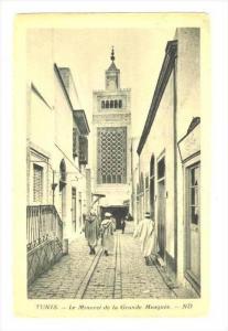 Le Minaret De La Grande Mosquee, Tunis, Tunisia, 1900-1910s