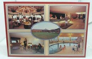 Vintage Postcard The Swallow Hotel Eagle Drive Northampton