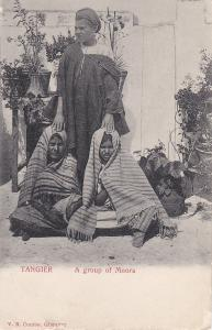 TANGER , Morocco , 00-10s ; A group of Moors