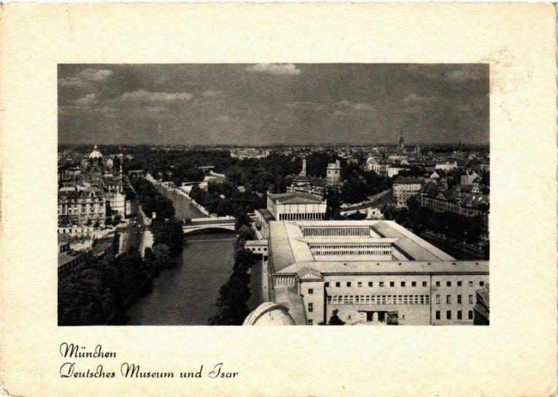CPA AK Munchen- Deutsches Museum u. Isar GERMANY (947024)