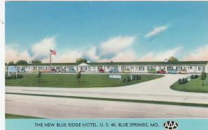 BLUE SPRINGS , Missouri , 40-60s ;  Blue Ridge Motel
