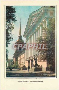 Postcard Modern Lenigrad The Admiralty 1806 1823
