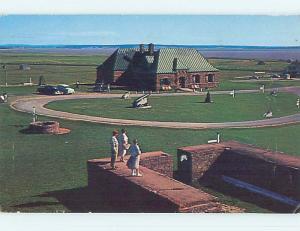 Pre-1980 TOWN VIEW SCENE Sackville New Brunswick NB p9356