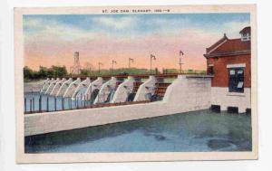 St.Joe Dam, Elkhart, Indiana, PU-1937