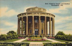 Vestavia Temple and Gardens, Birmingham, Alabama, 30-40s