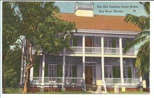 Key West, FL - The Old Caroline Lowe House
