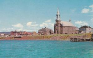 Churhc of St. Pierre, Cheticamp, Cape Breton, Nova Scotia, Canada, 40-60´s