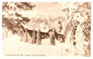 Washington , Rainer National Park , Paradise Inn in May , RPC