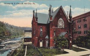 OIL CITY, Pennsylvania, PU-1920; Trinity M. E. Church