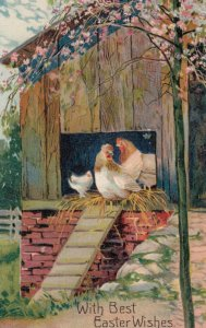 EASTER , 00-10s ; Chickens ; PFB 7524