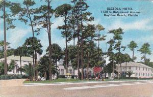 Florida Daytona Beach Osceola Hotel