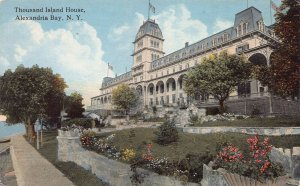 Thousand Island House, Alexandra Bay, New York, early postcard, unused