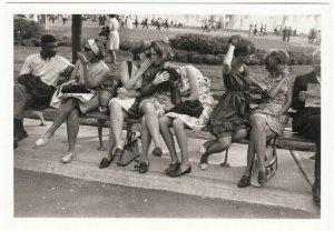 Compassion and Gossip at New York World's Fair Garry Winogrand - Modern Postcard