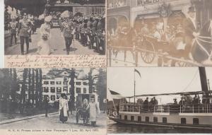 ROYAUTÉ PAYS-BAS ROYALTY NETHERLANDS WILHELMINA 800 CPA (pre-1940)