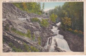 North Carolina Lower Cullasaja Falls Along U S Highway 64 Between Highlands a...