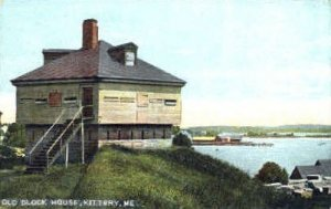 Old Block House in Kittery, Maine