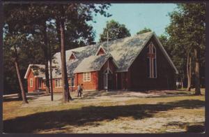 Lutherdale Bible Camp Chapel,Elkhorn,WI Postcard BIN