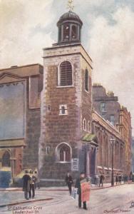 TUCK; LONDON, England, United Kingdom; St. Catherine Cree, Leadenhall Street,...