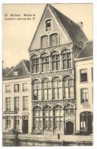 Maison Le Lepalaer, Quai Au Sel. 17, Malines (Antwerp), Belgium, 1900-1910s