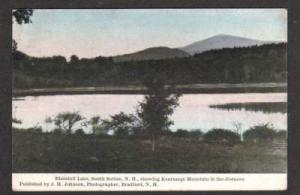 NH Blaisdell Lake South Sutton  NEW HAMPSHIRE Postcard